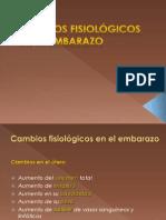 1.- Cambios Fisiologicos en El Embarazo Ppt