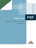 Manual Modulo ASMi-54C