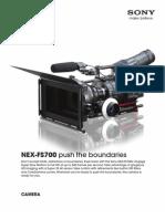 Nexfs700 Camera