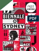 2010 Biennale Sydney Free Guide