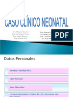 CASO CLINICO NEONATAL Listo Con Correcciones