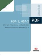 Manual de Instalación y Operación del Modulo HSF-1 Ver 11