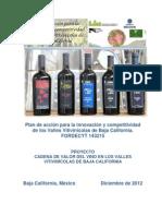 Reporte Final Cadena de Valor Del Vino en Los Valles de BC