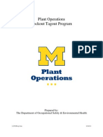 PlantOps Lockout Tagout Program