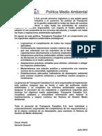 POL-SIG-002 R3 Política Medio Ambiental