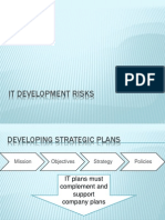 It Development Risks