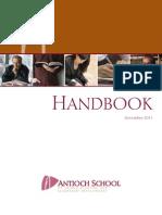 Antioch School Handbook