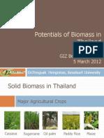 2012 en Hengniran Pep Informationswork Thailand Biomasse