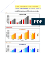 73 Designed Quality Excel Chart Templates