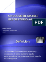 Síndrome de Distress Respiratorio Agudo