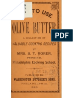 How to use olive butter