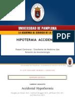 Hipotermia Accidental