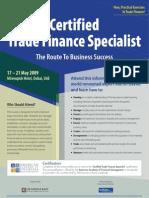 Certified Trade Finance