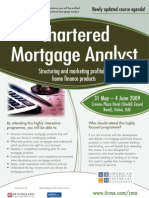 Chartered Mortgage Analyst