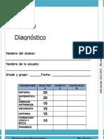 6to Grado - Diagnóstico