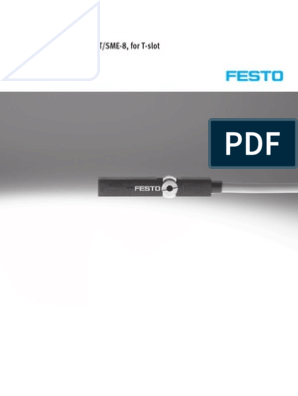FESTO ELECTRIC SMBR-8-12 MOUNTING KIT for MOUNTING Proximity SWITCHES SME-8 and SMT-8 175093 Size 8
