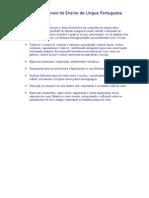 Objetivos Gerais do Ensino de Língua Portuguesa