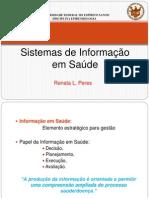 aula enfermagem - SISTEMA DE INFORMAÇÃO EM SAÚDE (SIS) 10.04.12