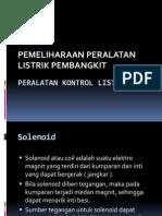 2. Peralatan Kontrol Listrik