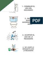 Acciones Para El Ahorro de Agua
