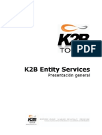 Pattern k 2 b Entity Services