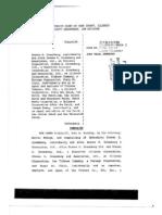 Drew Peterson lawyer Joel Brodsky's defamation lawsuit against Steven Greenberg, Tribune co., AOL, Patch etc.