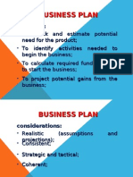 Lecture for Business Plan
