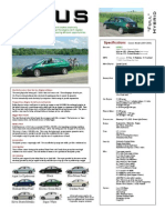 Prius Info-Sheet Classic