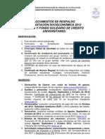 Acreditacion Socioeconomica 2013 Documentacion Respaldo Renovacion 2013