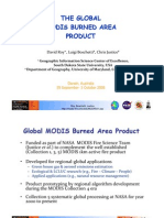 David Roy - The global MODIS burned area product