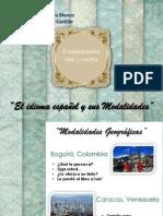 El español y sus modalidades