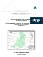 Estudio Hidrologico Zona Centro