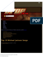 Top 10 Michael Jackson Songs
