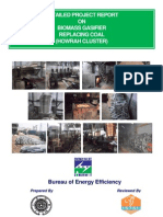 DPR on Biomass Gasifier for Coal Based Furnaces