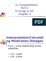 Basic Computations 2 IV & IVF