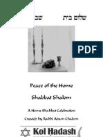 Home Shabbat Chalom