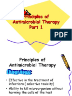 Principles of Antimicrobial Therapy Part 1