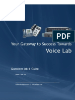 Cisco voice Lab4 Jan 13 Questions