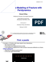 Multiscale Modeling Fracture Peridynamics
