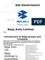 Corporate Governance-Bajaj Auto Limited