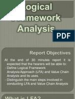 Logical Framework Analysis