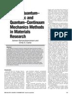 CAAD Materials Research