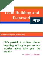 Team Building and Team Work.pptx