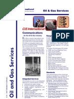 CiS Brochure Oil Gas
