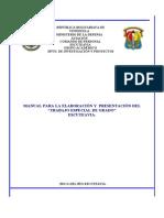 Manual Del Trabajo de Grado2005