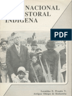 Mons. Proaño Plan de Pastoral Indígena