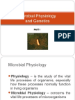 Microbial Physiology and Genetics Part 1