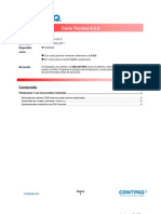 Carta Tecnica AdminPAQ 624