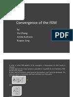 Convergence FEM