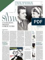 Sylvia Plath, una felicità fragile come il vetro - La Repubblica 08.02.2013